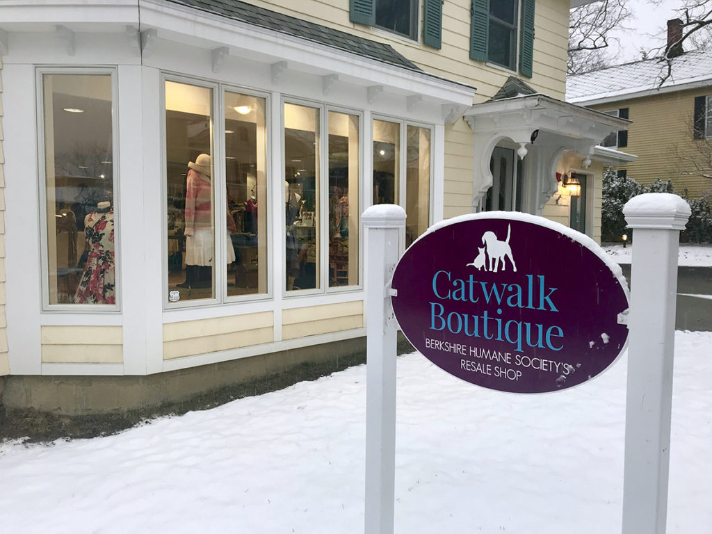 Exterior sign for Catwalk Boutique
